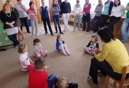 Setkání předškoláků s vedením města na mateřské škole Žďárská