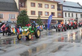Rekord traktorů – MŠ Drobného