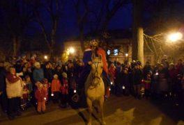 Svatý Martin na bílém koni – MŠ Drobného