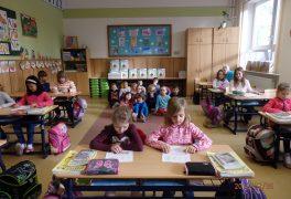 Předškoláci u školáků v I. ZŠ – MŠ Žďárská