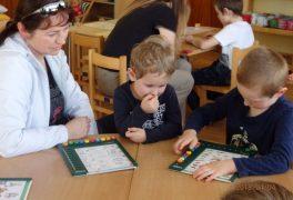 Ukázka práce s předškoláky – MŠ Žďárská