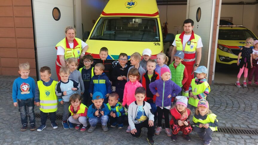 Návštěva u záchranářů – MŠ Žďárská