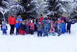 Lyžařské závody – MŠ Žďárská