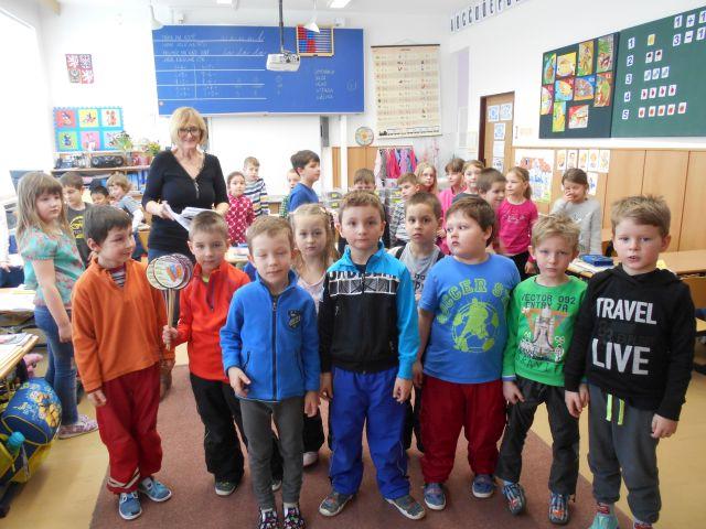 Návštěva předškoláků v I. ZŠ – MŠ Drobného