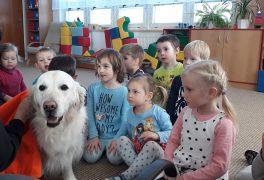 Čtyřnohá návštěva v MŠ Žďárská