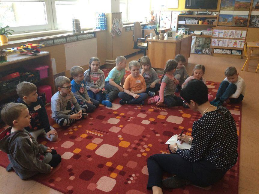Předškoláci v II. ZŠ – MŠ Žďárská
