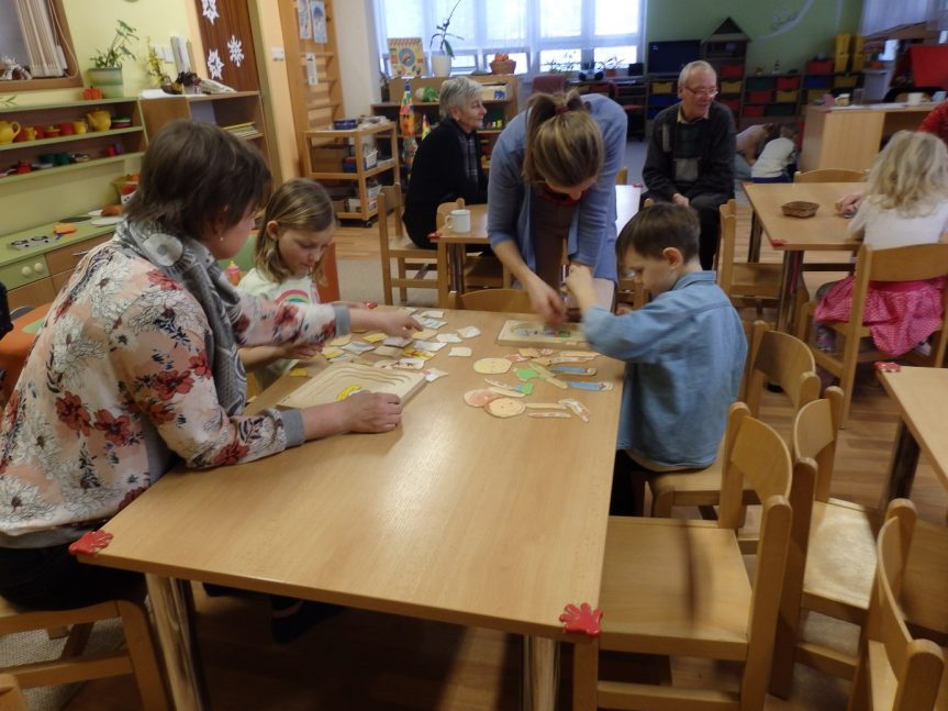 Ukázková hodina s předškoláky v MŠ Žďárská