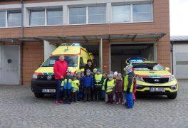 Návštěva záchranné služby – MŠ Žďárská