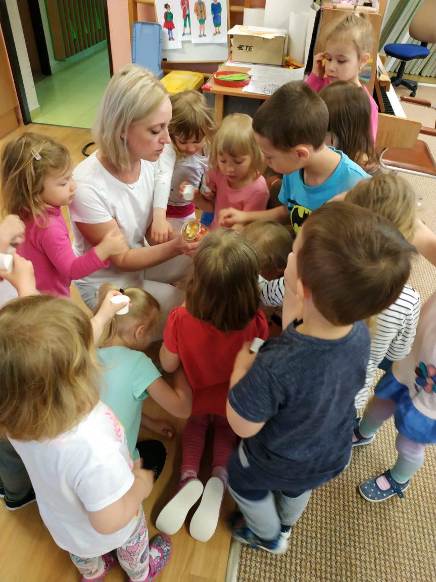 Setkání paní lékárnice s dětmi MŠ Žďárská